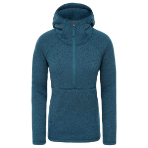 Hanorac Femei The North Face Crescent Hoodie Blue Coral Heather (Albastru)