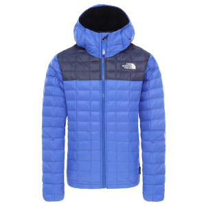 Geaca Drumetie Copii The North Face Boy'S Thermoball Eco Hoodie Tnf Blue (Albastru)