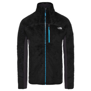 Polar Drumetie Barbati The North Face Impendor Highloft Tnf Black/Blue (Negru)