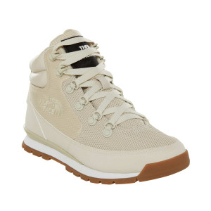 Ghete Femei The North Face Back To Berkeley Redux Mesh Bone White/Bone (Crem)