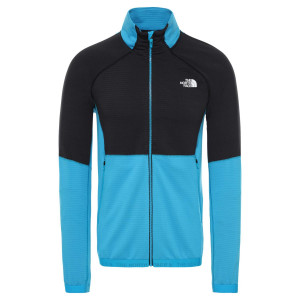 Polar Drumetie Barbati The North Face Impendor Midlayer Acoustic Blue (Albastru)