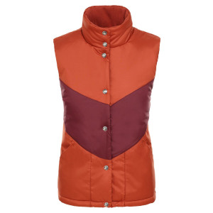 Vesta Femei The North Face Sylvester Vest Picant Red/Deep Garnet Red (Portocaliu)