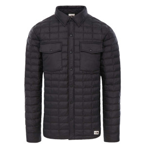 Geaca Drumetie Barbati The North Face Thermoball Eco Snap Jkt Tnf Black (Negru)