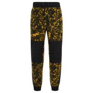 Pantaloni Fleece Barbati The North Face 94 Rage Classic Fleece Pant Leopard Yellow 1994 Rage Print (Multicolor)