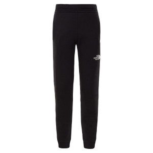 Pantaloni Copii The North Face Youth Fleece Pant Tnf Black/Tnf White (Negru)