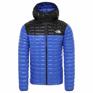 Geaca Drumetie Barbati The North Face Thermoball Eco Hoodie Tnf Blue/Tnf Black (Albastru)