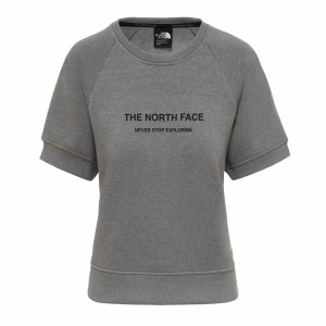 Tricou Femei The North Face Graphic S/S Tnf Medium Grey (Gri)