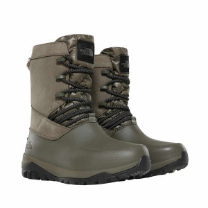 Ghete Femei The North Face Yukiona Mid Boot New Taupe Green/Tnf Black (Kaki)