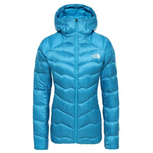 Geaca Puf Drumetie Femei The North Face Impendor Down Hoodie Acoustic Blue (Bleu)