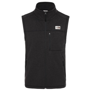 Polar Drumetie Barbati The North Face Gordon Lyons Vest Tnf Black Heather (Negru)