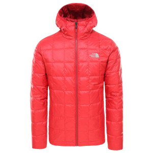 Geaca Puf Drumetie Barbati The North Face Kabru Hooded Down Tnf Red (Rosu)
