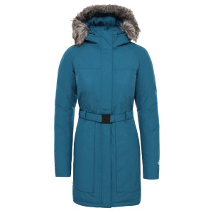 Geaca Femei The North Face Brooklin Parka Ii Blue Coral (Albastru)