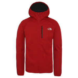 Geaca Softshell Drumetie Barbati The North Face Quest Hooded Softs Cardinal Red He (Rosu)