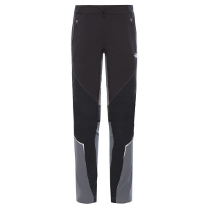 Pantaloni Drumetie Femei The North Face Heavyweight Logo Tnf Black/Vanad Regular (Negru)