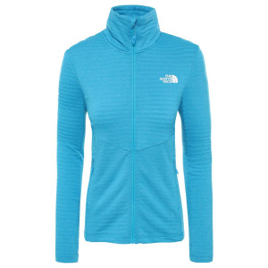 Polar Drumetie Femei The North Face Impendor Light Midlayer Acoustic Blue L (Bleu)