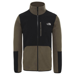 Polar Drumetie Barbati The North Face Glacier Pro Full Zip New Taupe Green (Kaki)