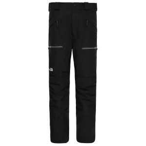 Pantaloni Ski Barbati The North Face Powderflo Pants Tnf Black Regular (Negru)