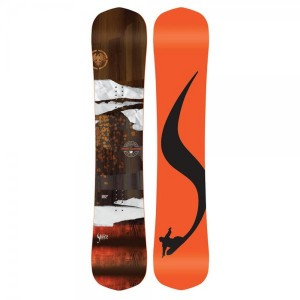 Placa Snowboard Unisex Never Summer Shaper Twin 153CC Portocaliu