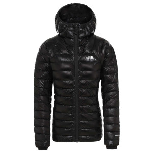 Geaca Puf Drumetie Femei The North Face Summit L3 Down Hoodie Tnf Black/Tnf Black (Negru)