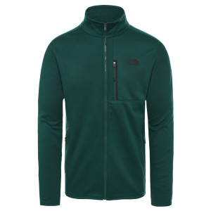 Polar Drumetie Barbati The North Face Canyonlands Full Zip Night Green (Verde)