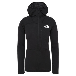 Polar Drumetie Femei The North Face Summit L2 Power Grid Tnf Black (Negru)
