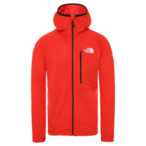Polar Drumetie Barbati The North Face Summit L2 Power Grid Fiery Red (Rosu)