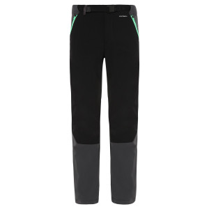 Pantaloni Drumetie Barbati The North Face Diablo Ii Tnf Black/Green Regular (Negru)