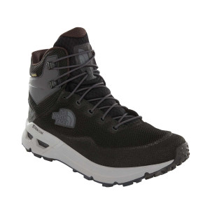 Ghete Drumetie Barbati The North Face Safien Mid Gtx Tnf Black/Ebony (Negru)