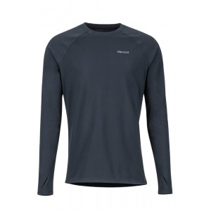 Bluza First Layer Barbati Marmot Lightweight Kestrel LS Negru