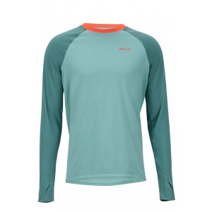Bluza First Layer Barbati Marmot Lightweight Kestrel LS Verde