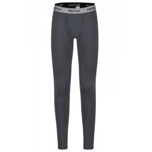 Pantaloni First Layer Ski Barbati Marmot Midweight Harrier Negru