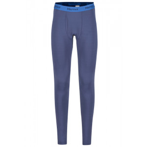 Pantaloni First Layer Ski Barbati Marmot Midweight Harrier Bleumarin