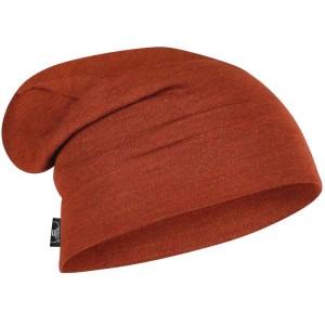 Caciula Multisport Unisex Buff Merino Wool Heavyweight Loose Hat Caramiziu