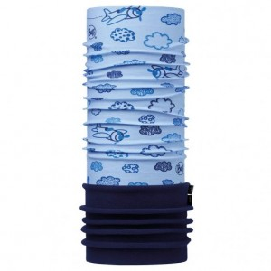 Neck Tube Buff Polar Baby Clouds Blue / Navy