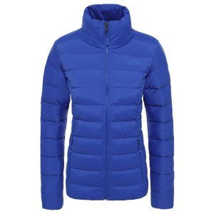 Geaca Puf Drumetie Femei The North Face Stretch Down Jkt Tnf Blue (Albastru)