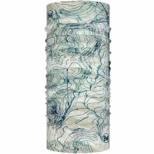 Neck Tube Multisport Unisex Buff Coolnet UV+ Insect Shield Laude Silver Grey Gri
