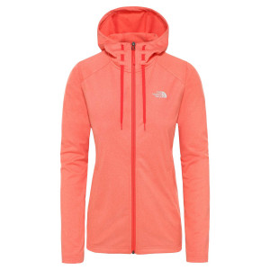 Hanorac Femei The North Face Tech Mezzaluna Hoodie Radiant Orange (Portocaliu)