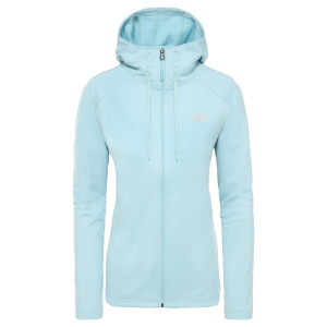 Hanorac Femei The North Face Tech Mezzaluna Hoodie Windmill Blue (Turcoaz)