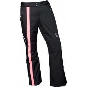 Pantaloni Schi si Snowboard Spyder Temerity Tailored Fit Negru/Roz