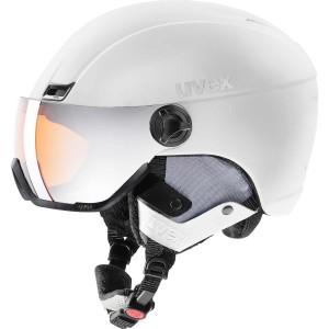 Casca Ski si Snowboard Unisex Uvex Hlmt 400 Visor Style OTG White Mat (Alb)
