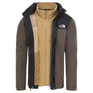 Geaca Drumetie Barbati The North Face Evolve Ii Triclimate New Taupe Green (Kaki)