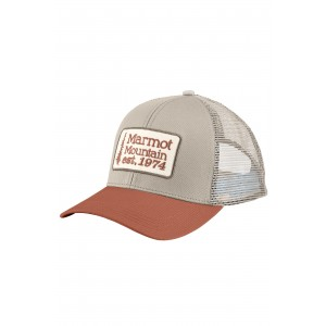 Sapca Marmot Retro Trucker Hat Verde Deschis