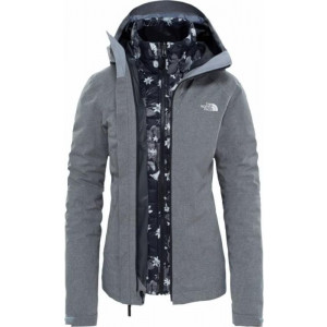 Geaca Femei Hiking The North Face Thermoball Triclimate Gri