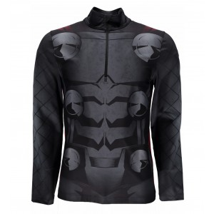 Bluza First Layer Spyder Marvel Tech 1/4 Zip M Negru