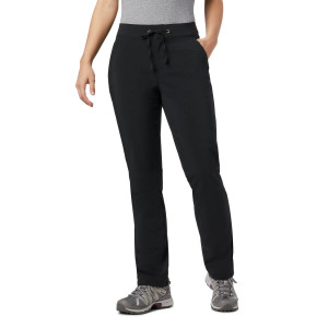 Pantaloni Femei Columbia Anytime Outdoor Lined Pant Negru