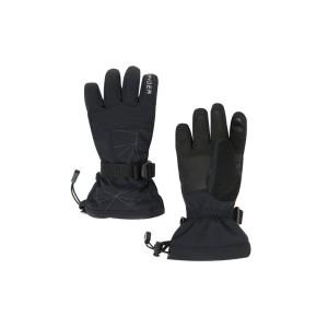 Manusi Ski Baieti Spyder Overweb Black (Negru)
