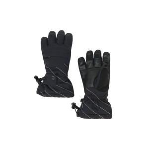 Manusi Ski Fete Spyder Synthesis Black (Negru)