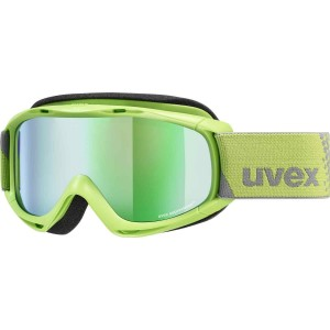 Ochelari Ski si Snowboard Copii Uvex Slider FM Lightgreen Mirror Green Rose