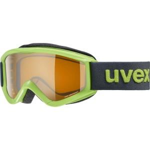 Ochelari Ski si Snowboard Copii Uvex Speedy Pro Lightgreen Lasergold