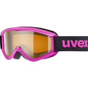 Ochelari Ski si Snowboard Copii Uvex Speedy Pro Pink Lasergold